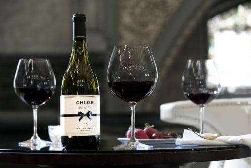 Chloe Pinot Noir Red Wine Perspective: top