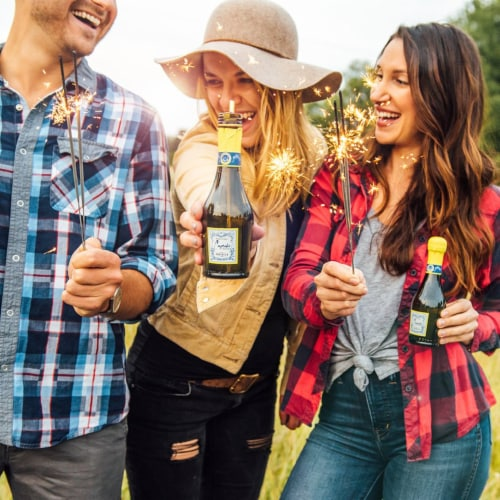 Cupcake Vineyards Prosecco Sparkling Wine Perspective: top