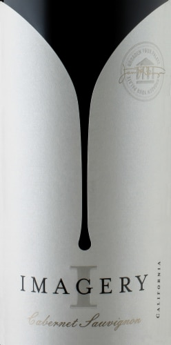 Imagery California Cabernet Sauvignon Red Wine Perspective: top
