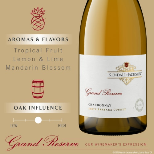 Kendall-Jackson Grand Reserve Chardonnay White Wine Perspective: top