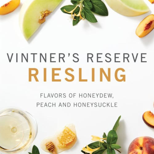 Kendall-Jackson Vintner's Reserve Riesling White Wine Perspective: top