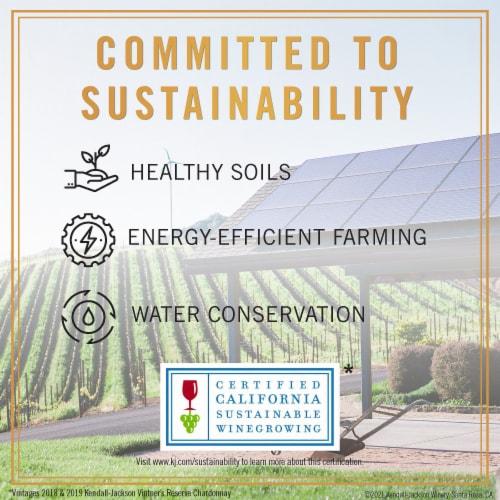 Kendall-Jackson Vintner's Reserve Merlot Red Wine Perspective: top