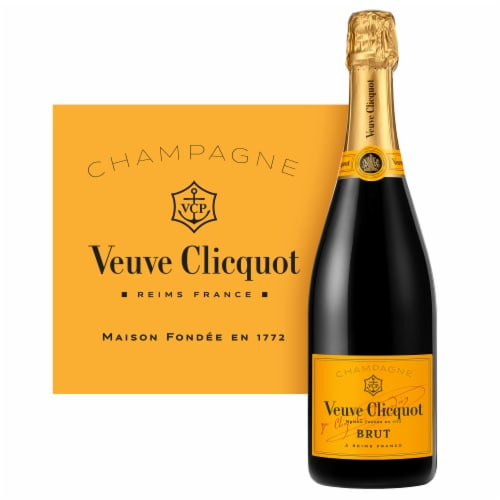 Veuve Clicquot Yellow Label Champagne Perspective: top