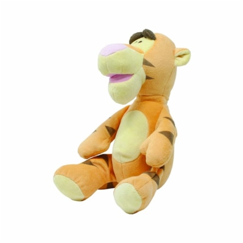 Disney Plush, Tigger with Rattle Perspective: top