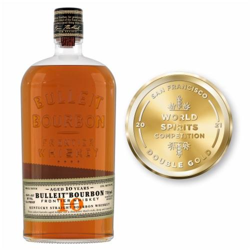Bulleit Bourbon 10-Year Kentucky Straight Bourbon Whiskey Perspective: top