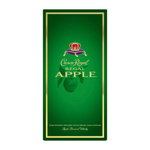 Crown Royal Regal Apple Flavored Canadian Whisky Perspective: top