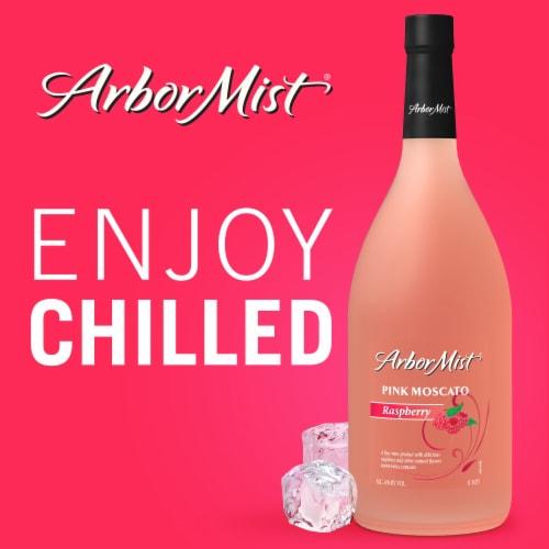 Arbor Mist Raspberry Pink Moscato Fruit Wine Perspective: top