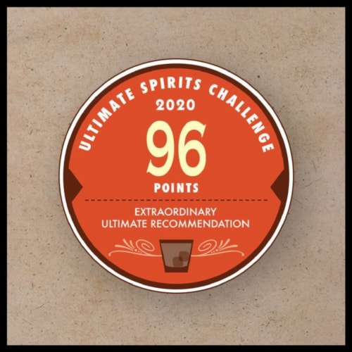 Jack Daniel's® Rye Tennessee Straight Rye Whiskey Perspective: top