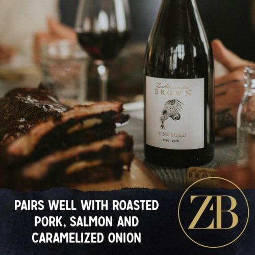 Z. Alexander Brown Pinot Noir Red Wine Perspective: top