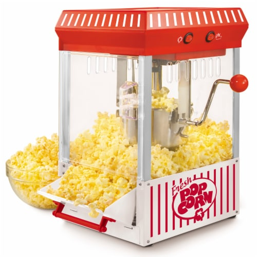 Nostalgia 2.5 Ounce Kettle Popcorn Maker Perspective: top