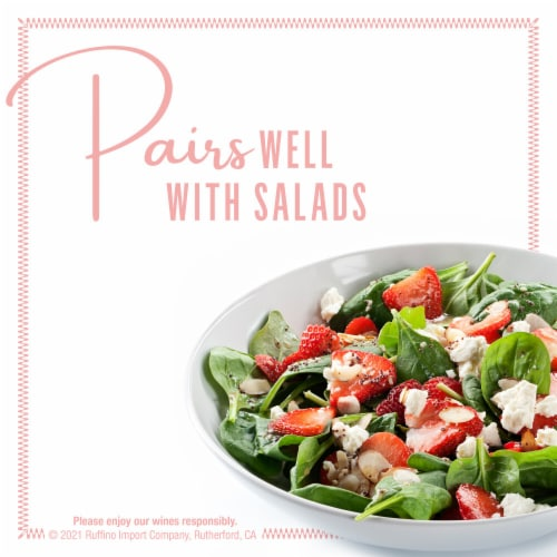 Ruffino Sparkling Rose White Wine Perspective: top