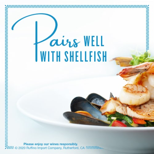 Ruffino Lumina Pinot Grigio White Wine Perspective: top