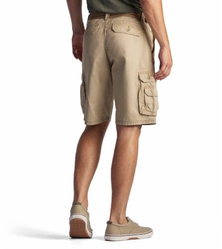 Lee Men's Wyoming Cargo Shorts - Buff Perspective: top
