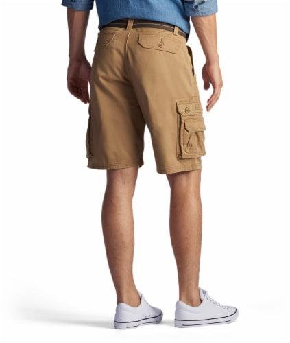 Lee Men's Wyoming Cargo Shorts - Bourbon Perspective: top