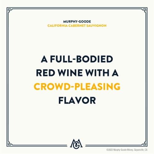 Murphy-Goode California Cabernet Sauvignon Red Wine Perspective: top