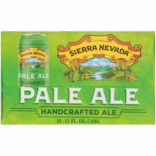 Sierra Nevada Brewing Co. Pale Ale Beer Perspective: top