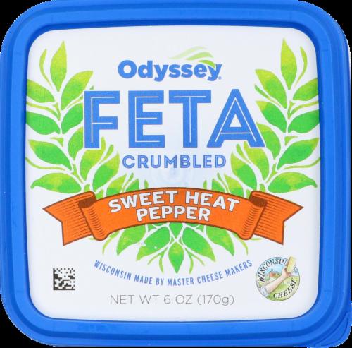 Odyssey Sweet Heat Pepper Feta Cheese Perspective: top