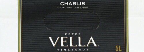 Peter Vella Chablis White Box Wine Perspective: top
