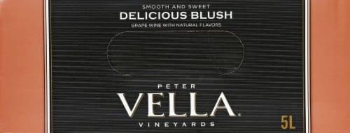 Peter Vella Vineyards Blush Wine Perspective: top