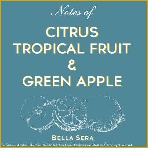 Bella Sera Pinot Grigio White Wine 1.5L Perspective: top