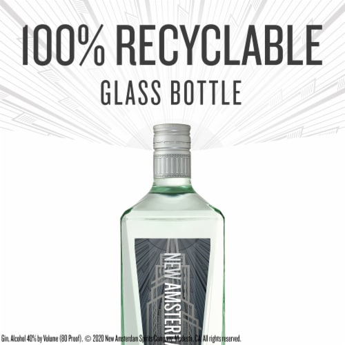New Amsterdam Gin Perspective: top