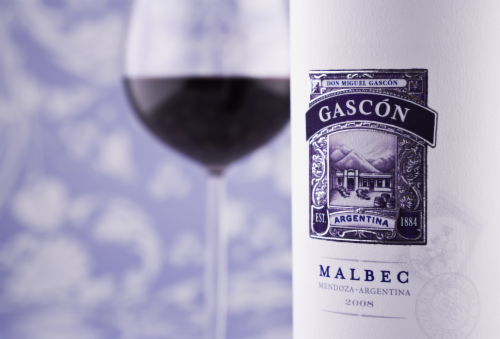 Don Miguel Gascon Argentina Malbec Red Wine Perspective: top