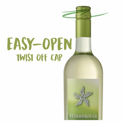 Starborough New Zealand Sauvignon Blanc White Wine 750ml Perspective: top