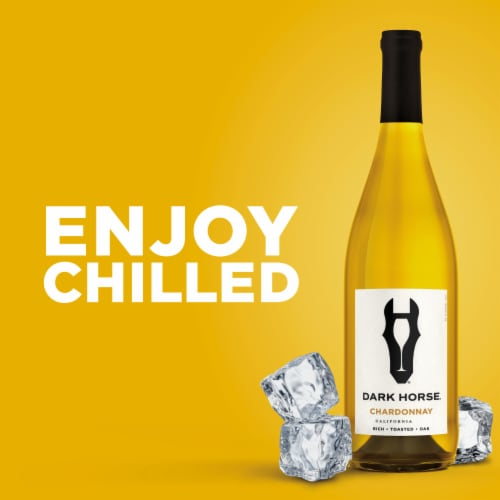 Dark Horse Chardonnay White Wine Perspective: top
