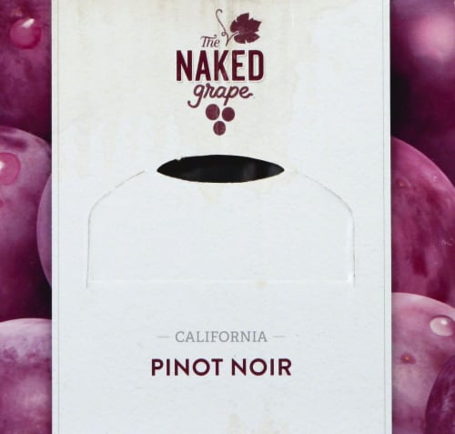The Naked Grape Box Pinot Noir Box Wine 3L Perspective: top