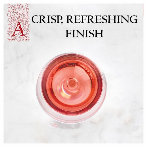 Apothic Rose Wine Perspective: top