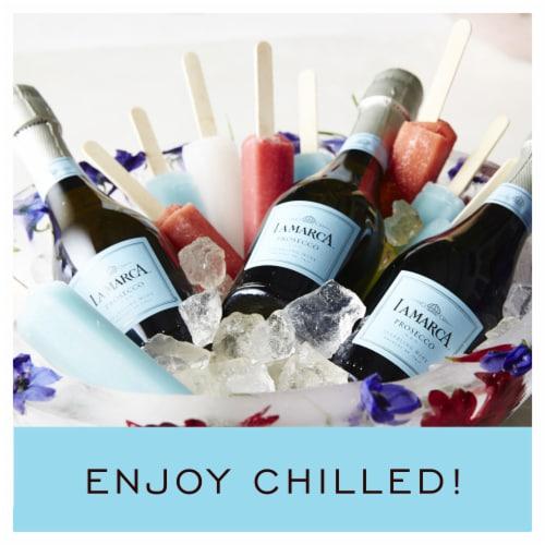 La Marca Prosecco Sparkling Wine 1 Single Serve 187ml Perspective: top