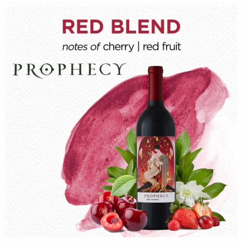 Prophecy Red Blend Red Wine Perspective: top