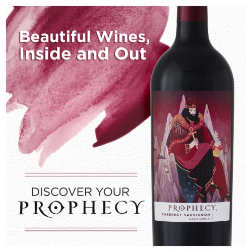 Prophecy Cabernet Sauvignon Red Wine Perspective: top