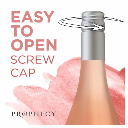 Prophecy Rose Wine Perspective: top