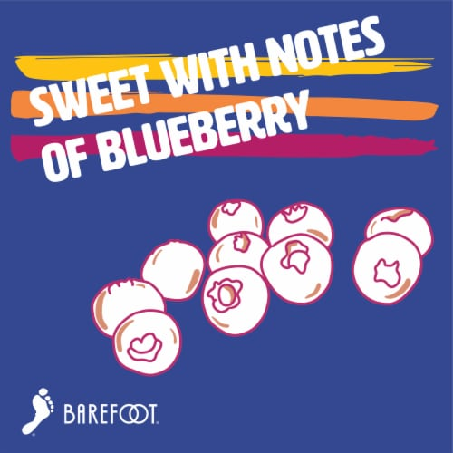 Barefoot Blueberry Fruitscato Wine Perspective: top
