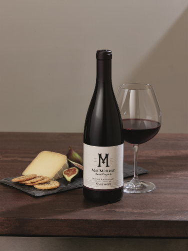 MacMurray Estate Russian River Valley Pinot Noir Red Wine 750ml Perspective: top