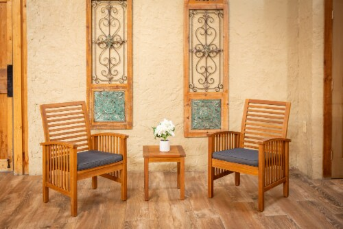 Leigh Country Sequoia Conversation Set Perspective: top
