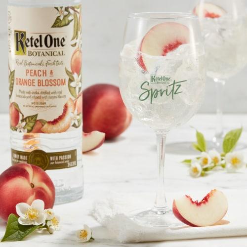 Ketel One Botanical Peach & Orange Blossom Vodka Perspective: top