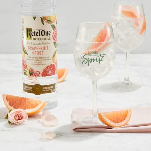 Ketel One Botanical Grapefruit & Rose Vodka Perspective: top