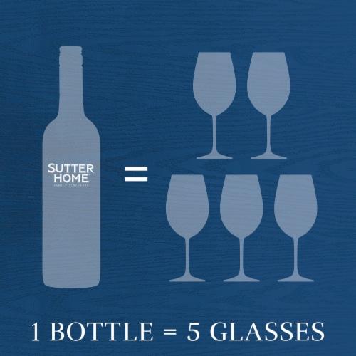 Sutter Home® Merlot Red Wine 750mL Wine Bottle Perspective: top