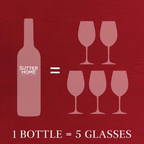 Sutter Home® Cabernet Sauvignon Red Wine 750mL Wine Bottle Perspective: top