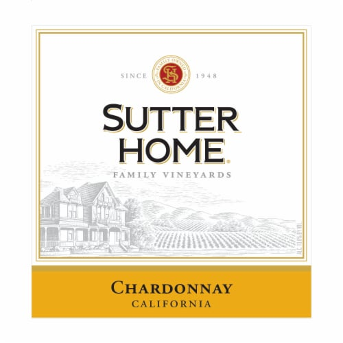 Sutter Home® Chardonnay White Wine Perspective: top