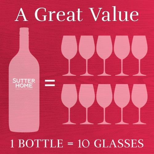 Sutter Home® White Merlot Blush Wine Perspective: top