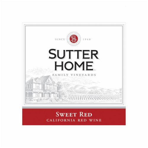 Sutter Home® Sweet Red Wine Perspective: top