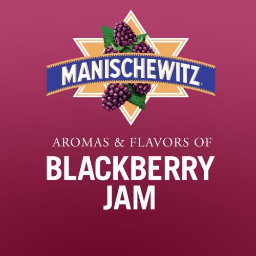 Manischewitz Blackberry Fruit Wine Perspective: top