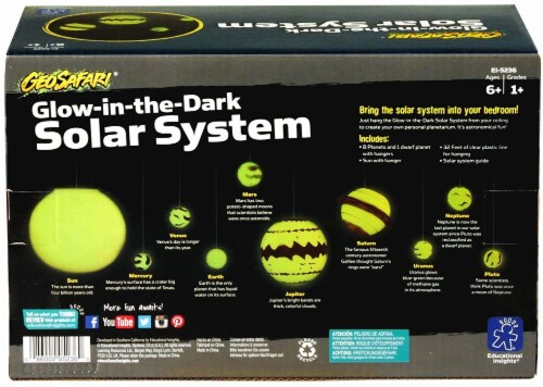 Educational Insights GeoSafari Glow-in-the-Dark Solar System Perspective: top