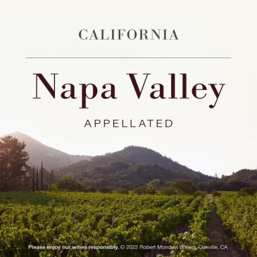 Robert Mondavi Winery Napa Cabernet Sauvignon Red Wine Perspective: top
