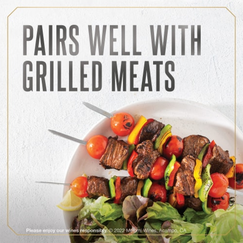 Meiomi Cabernet Sauvignon Red Wine Perspective: top