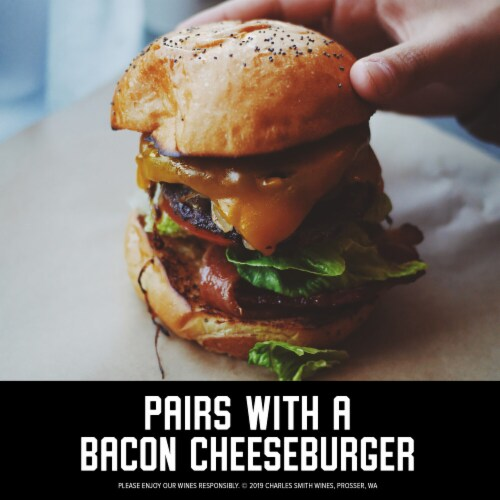 The Velvet Devil by Charles Smith Merlot Red Wine Perspective: top