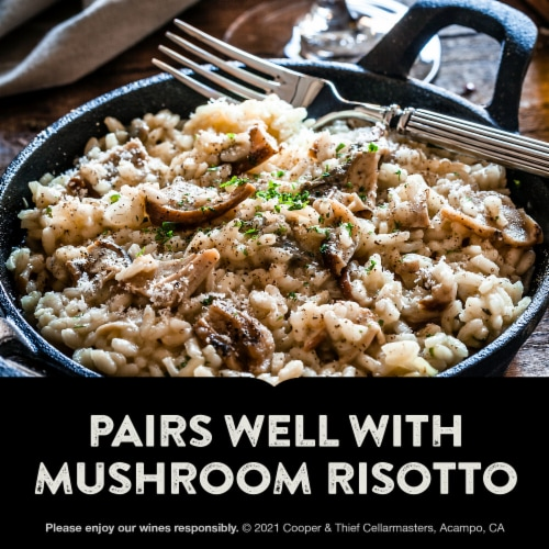 Cooper & Thief Brandy Barrel Aged Pinot Noir Red Wine Perspective: top